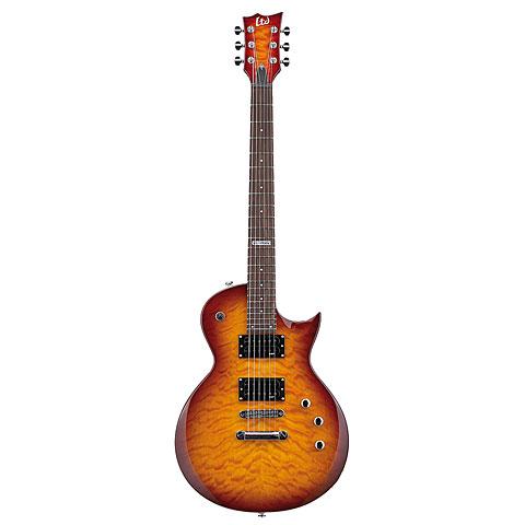ESP LTD EC-100QM FCSB « Guitarra eléctrica