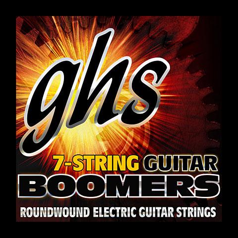 Cuerdas guitarra eléctr. GHS Boomers 009-058 GB7L