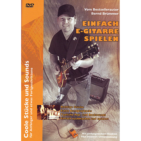DVD Acoustic Music Books Einfach E-Gitarre spielen