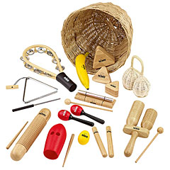 Nino Rhythm Assortment Basket 15 Pcs. « Percussie set