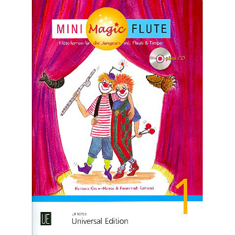 Lehrbuch Universal Edition Mini Magic Flute