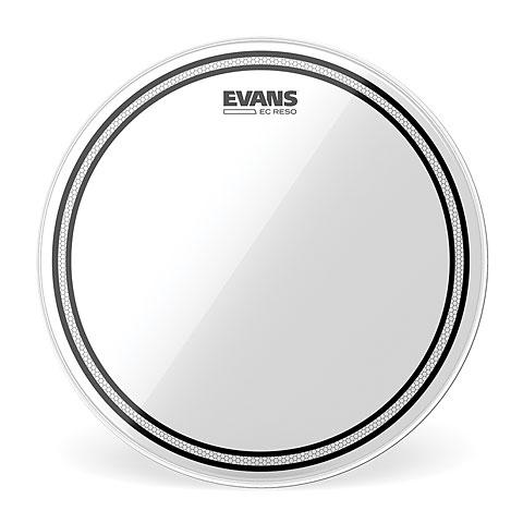 "Evans Edge Control EC Resonant Clear 10"" Tom Head"