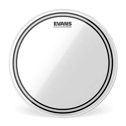 "Evans Edge Control EC Resonant Clear 16"" Tom Head"