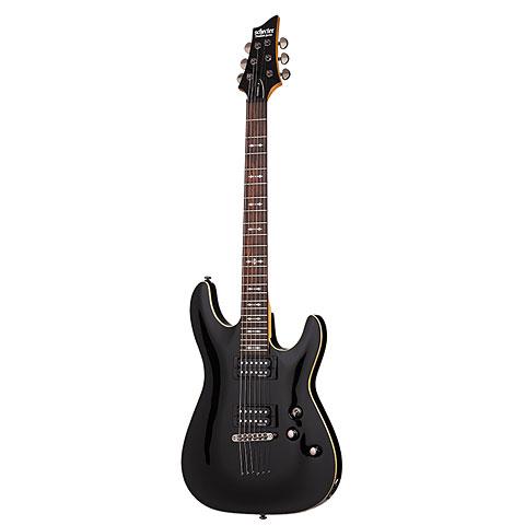 Schecter Omen 6 BLK « E-Gitarre