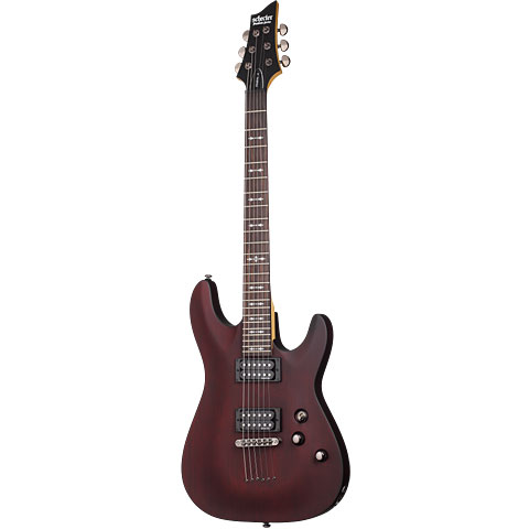 Schecter Omen 6 WSN « Guitare électrique