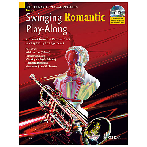 Schott Swinging Romantic for Trumpet