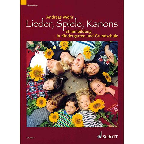 Manuel pédagogique Schott Lieder, Spiele, Kanons