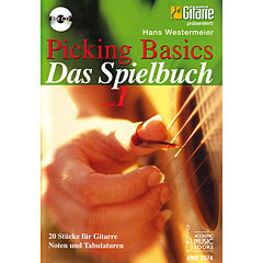 Acoustic Music Books Picking Basics - Das Spielbuch « Recueil de Partitions