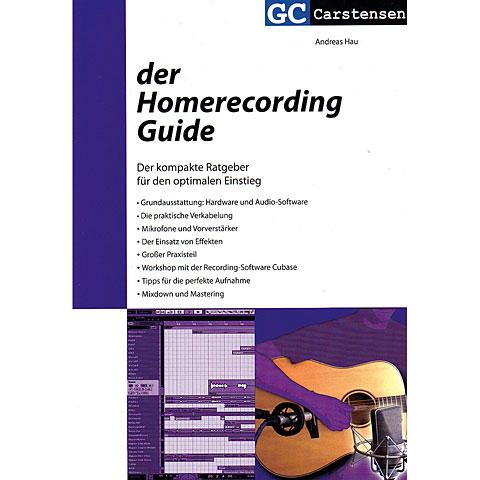 Technisches Buch Carstensen Der Homerecording Guide