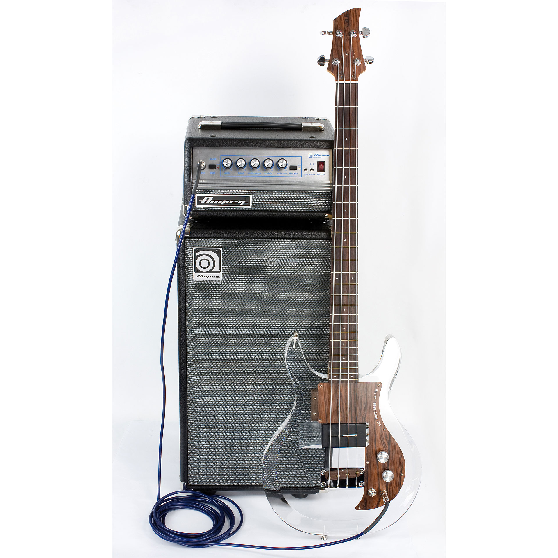 Ampeg classic micro vr stack bass stack for Classic house bass