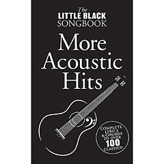 Music Sales The Little Black Songbook - More Acoustic Hits « Cancionero