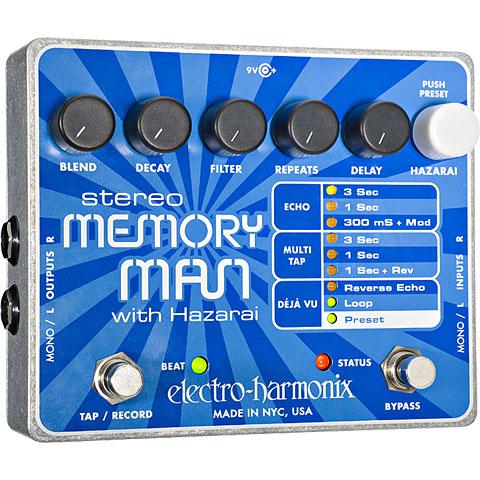 Effektgerät E-Gitarre Electro Harmonix XO Stereo Memory Man with Hazarai