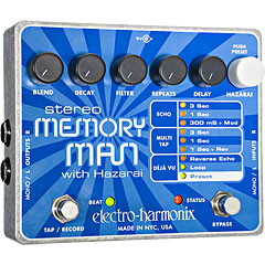 Electro Harmonix XO Stereo Memory Man with Hazarai « Effets pour guitare électrique