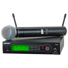 Shure SLX24/Beta58 S6 « Micrófono inalámbrico
