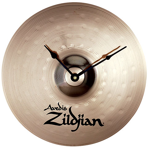 """Reloj de pared Zildjian 13"""" Cymbal Clock"""