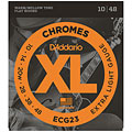 Χορδές ηλεκτρικής κιθάρας D'Addario ECG23 Chromes .010-048