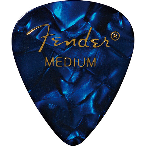 Fender 351 Blue Moto, medium (12 Stk.)