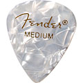 Fender 351 White Moto, thin (12 Stk.) « Pick