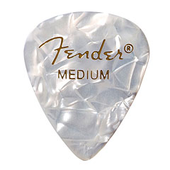 Fender 351 White Moto, medium (12 Stk.) « Plektrum