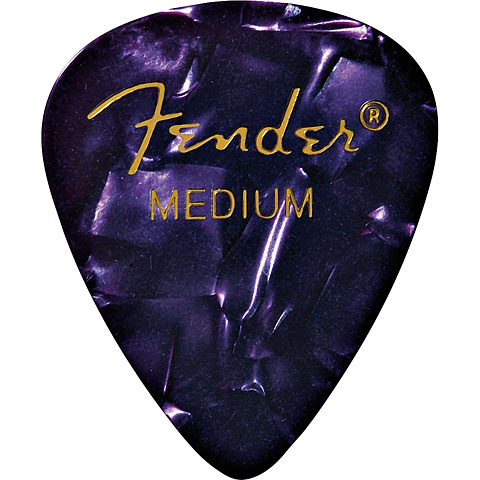 Fender 351 Purple Moto, medium (12 Stk.)