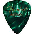 Plektrum Fender 351 Green Moto, medium (12 Stk.)