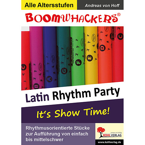Kohl Boomwhackers Latin Rhythm Party