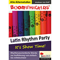 Libro di testo Kohl Boomwhackers Latin Rhythm Party 1