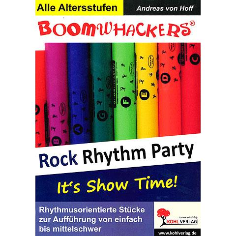 Libros didácticos Kohl Boomwhackers Rock Rhythm Party