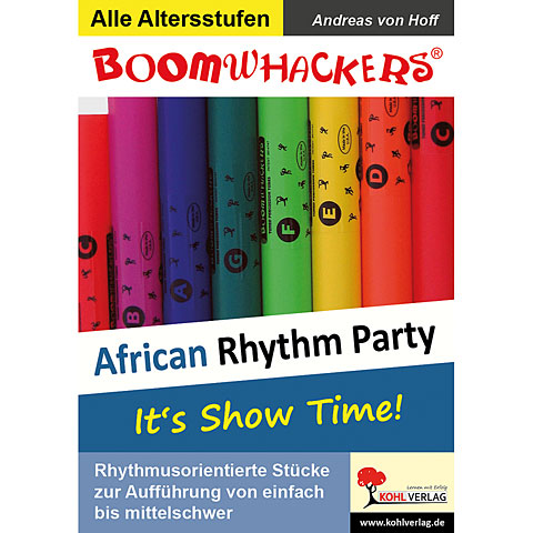 Kohl Boomwhackers African Rhythm Party