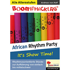 Kohl Boomwhackers African Rhythm Party « Instructional Book