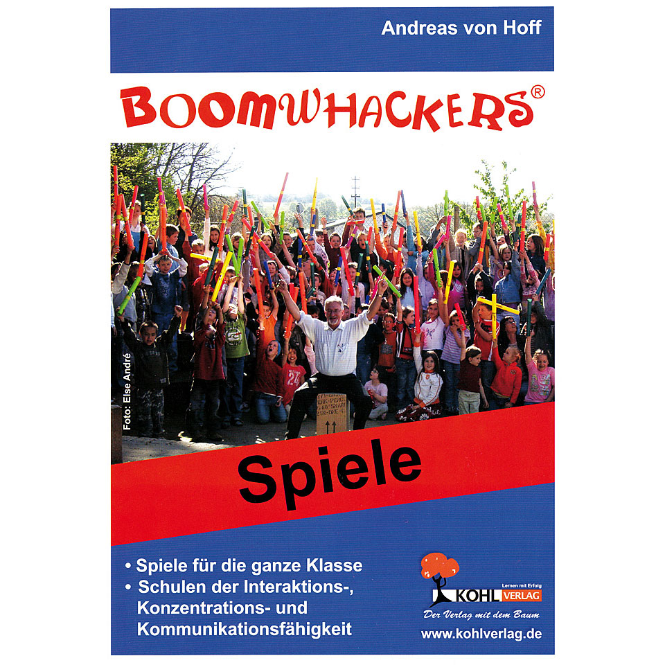 Kohl Boomwhackers Spiele Instructional Book