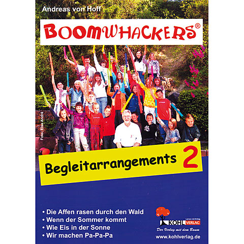 Libros didácticos Kohl Boomwhackers Begleitarrangements 2
