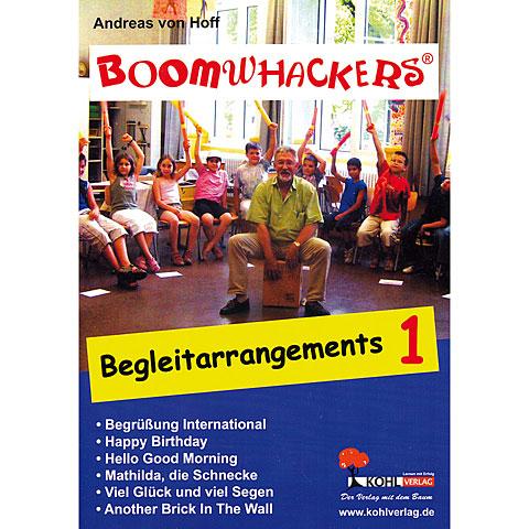 Libros didácticos Kohl Boomwhackers Begleitarrangements Band 1