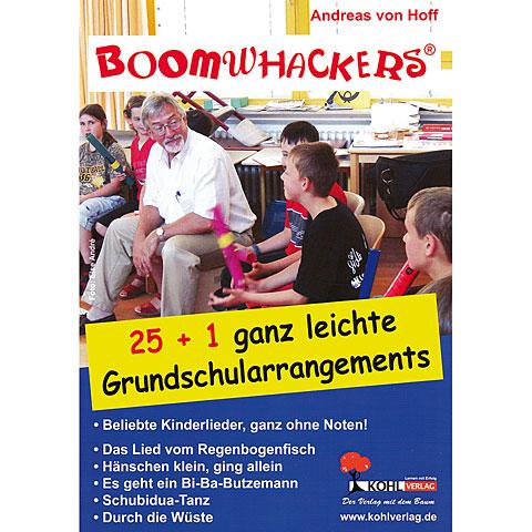 Kohl Boomwhackers 25+1 ganz leichte Grundschularrangements