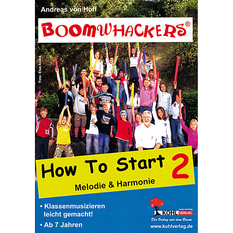 Libros didácticos Kohl Boomwhackers How to Start 2