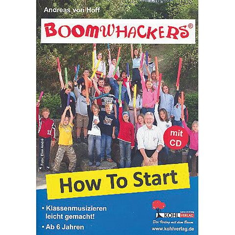 Libros didácticos Kohl Boomwhackers How to Start 1