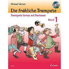 Schott Die fröhliche Trompete Bd.1 « Leerboek