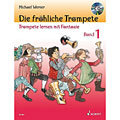 Instructional Book Schott Die fröhliche Trompete Bd.1, Wind Instruments