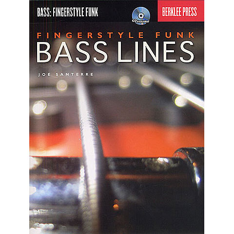 Lehrbuch Berklee Press Fingerstyle Funk Bass Lines