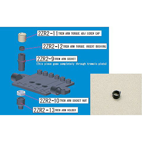 Ibanez 2 ZR2-12 Plastikhülse
