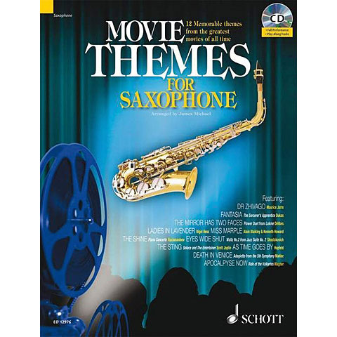 Schott Movie Themes for Tenor Saxophone