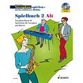 Recueil de Partitions Schott Saxophon spielen - mein schönstes Hobby Spielbuch 2 - Alt