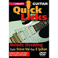 DVD Roadrock Lick Library Quick Licks Melodic Shredding / Steve Vai, DVDs