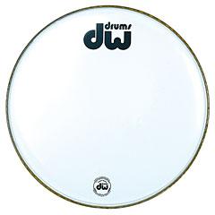 "DW Bass Drum Head 22"" White Coated « Bassdrumvel"