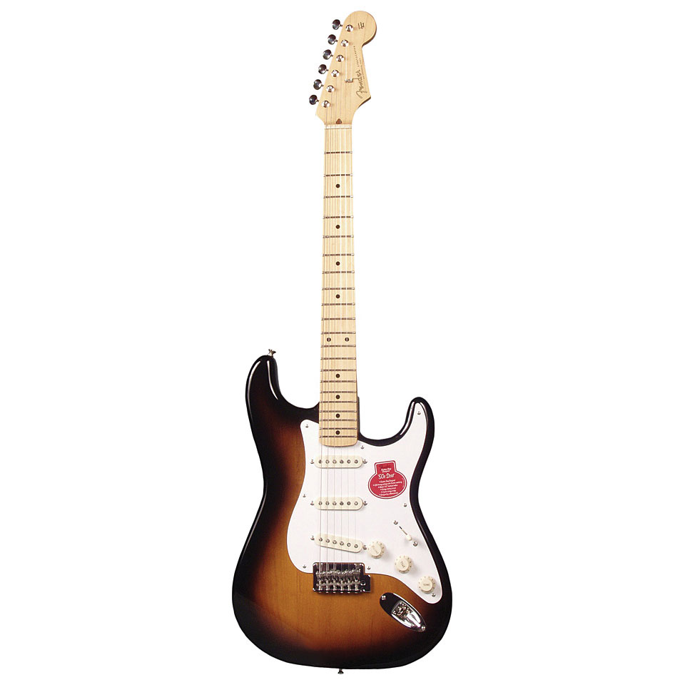 Vintage guitar player has fun 7