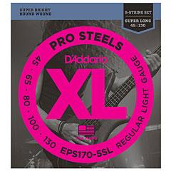 D'Addario EPS170-5-SL Pro Steels .045-130 « Set di corde per basso elettrico