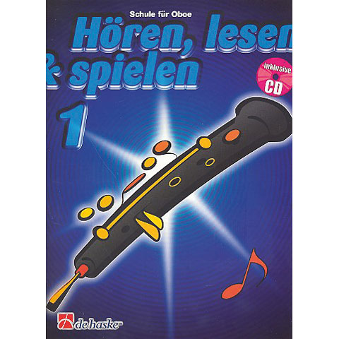 De Haske Hören,Lesen&Spielen Bd. 1 für Oboe