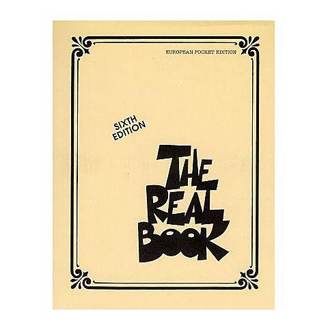 Cancionero Hal Leonard The Real Book Vol. I C (6th ed.) European Pocket Edition